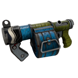 Macaw Masked Stickybomb Launcher (Well-Worn)