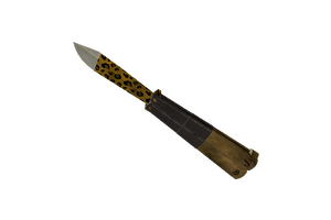 Specialized Killstreak Leopard Printed Knife Factory New