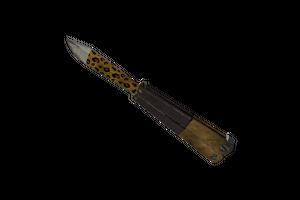 Strange Leopard Printed Knife Field Tested
