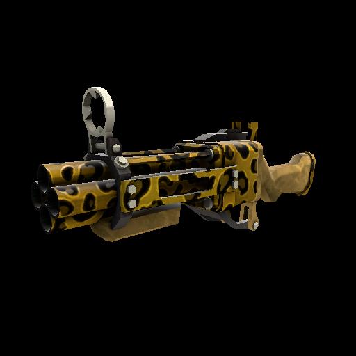Leopard Printed Iron Bomber
