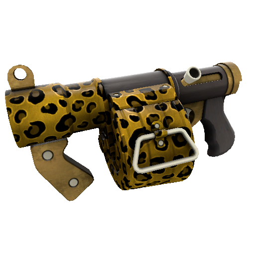 Leopard Printed Stickybomb Launcher