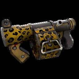 Leopard Printed Stickybomb Launcher (Well-Worn)