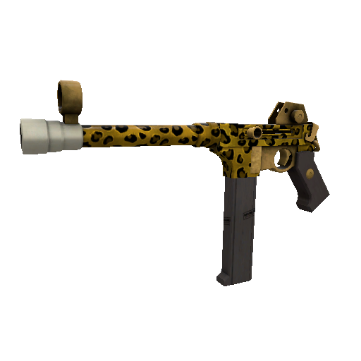 Leopard Printed SMG