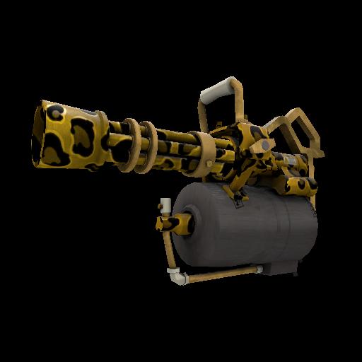 Leopard Printed Minigun