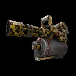 Leopard Printed Minigun (Battle Scarred)