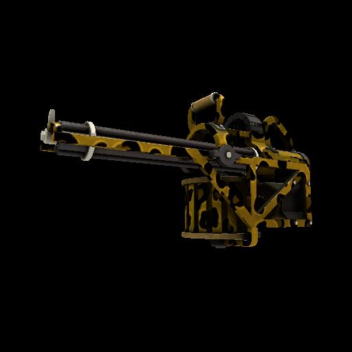 Leopard Printed Brass Beast