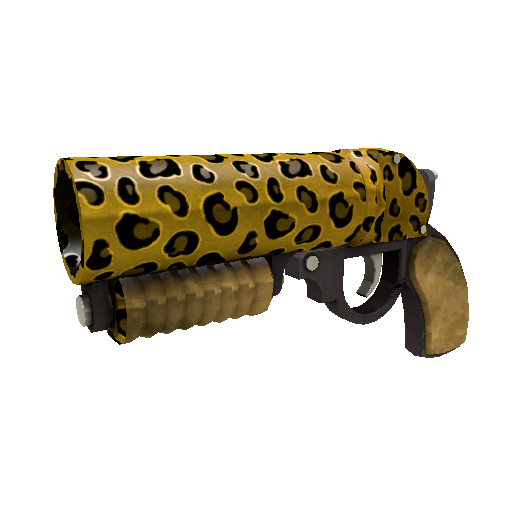Leopard Printed Scorch Shot
