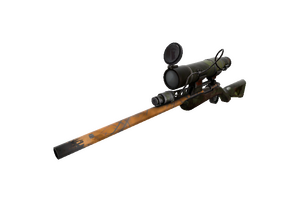 Bogtrotter Sniper Rifle Battle Scarred