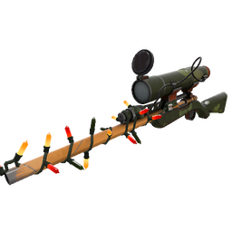 Festivized Killstreak Bogtrotter Sniper Rifle (Field-Tested)