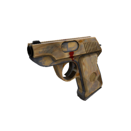 Killstreak Hickory Hole-Puncher Pistol (Battle Scarred)