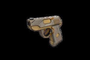 Hickory Hole Puncher Pistol Minimal Wear