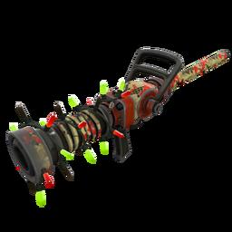 Unusual Festive Professional Killstreak Wrapped Reviver Medi Gun (Field-Tested)