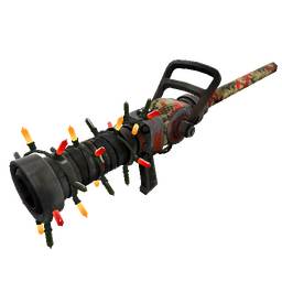 Strange Festivized Wrapped Reviver Medi Gun (Battle Scarred)