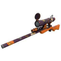 Strange Horror Holiday Sniper Rifle (Field-Tested)