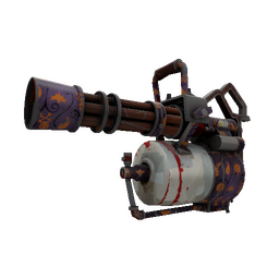 Strange Spirit of Halloween Minigun (Battle Scarred)