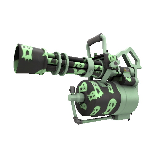 Haunted Ghosts Minigun