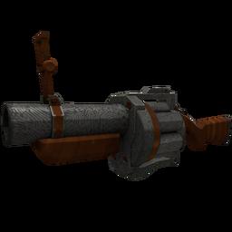 Damascus & Mahogany Grenade Launcher (Minimal Wear)