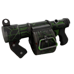 Strange Alien Tech Stickybomb Launcher (Well-Worn)