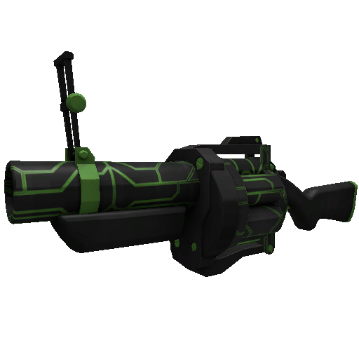 Alien Tech Grenade Launcher