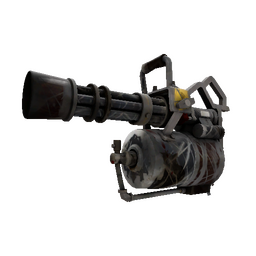 Killstreak Iron Wood Minigun (Battle Scarred)