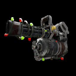 Festivized Iron Wood Minigun (Well-Worn)