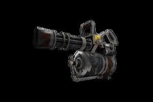 Iron Wood Minigun Well Worn