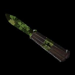 Clover Camo'd Knife (Factory New)