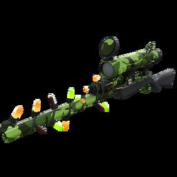 Festivized Clover Camo'd Sniper Rifle (Factory New)
