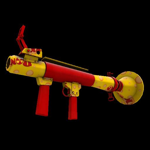 Bonk Varnished Rocket Launcher