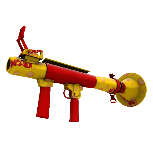Bonk Varnished Rocket Launcher