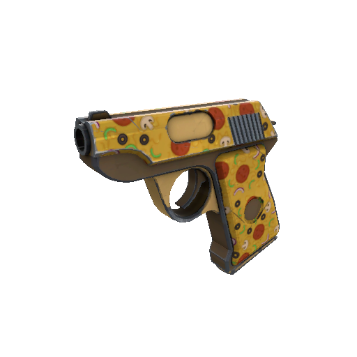 Pizza Polished Pistol
