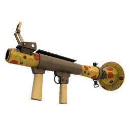 Killstreak Pizza Polished Rocket Launcher (Minimal Wear)