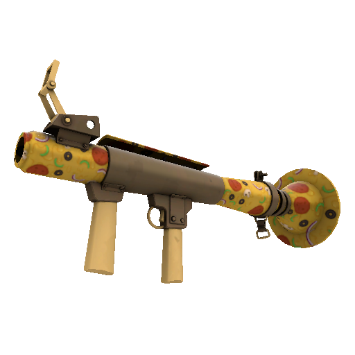 Pizza Polished Rocket Launcher