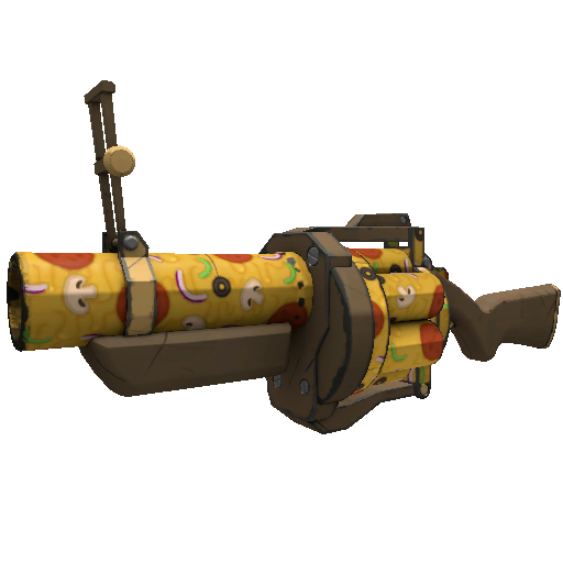 Pizza Polished Grenade Launcher
