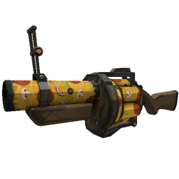 Pizza Polished Grenade Launcher (Well-Worn)