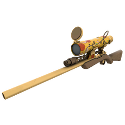 Killstreak Pizza Polished Sniper Rifle (Factory New)