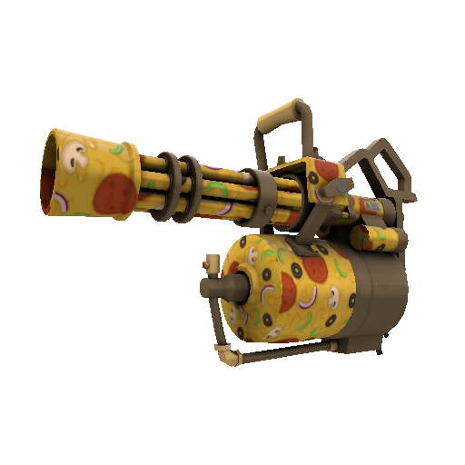 Pizza Polished Minigun
