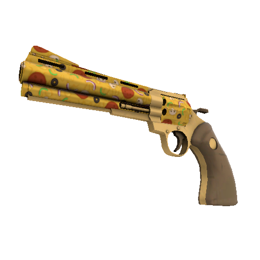 Pizza Polished Revolver
