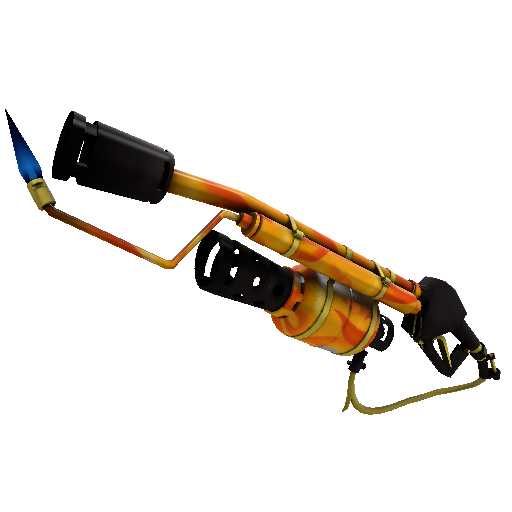 Fire Glazed Flame Thrower