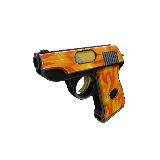 Fire Glazed Pistol