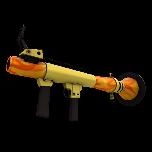 Fire Glazed Rocket Launcher