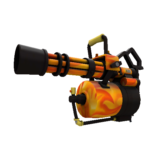 Fire Glazed Minigun