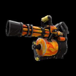 Unusual Professional Killstreak Fire Glazed Minigun (Field-Tested)