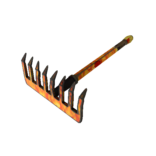 Fire Glazed Back Scratcher