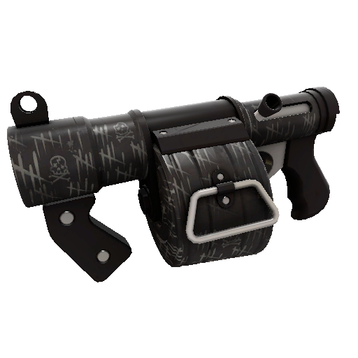 Kill Covered Stickybomb Launcher