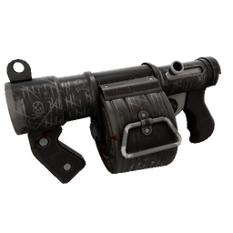 Kill Covered Stickybomb Launcher (Well-Worn)