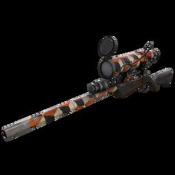 Unusual Killstreak Merc Stained Sniper Rifle (Battle Scarred)
