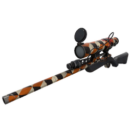 Unusual Merc Stained Sniper Rifle (Well-Worn)