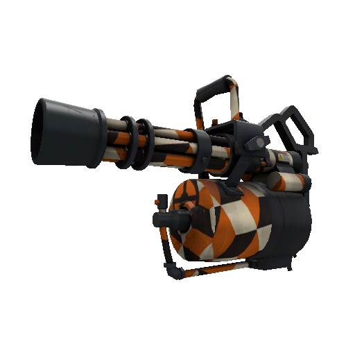 Merc Stained Minigun