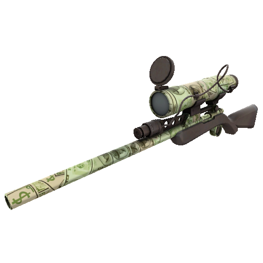 Bank Rolled Sniper Rifle